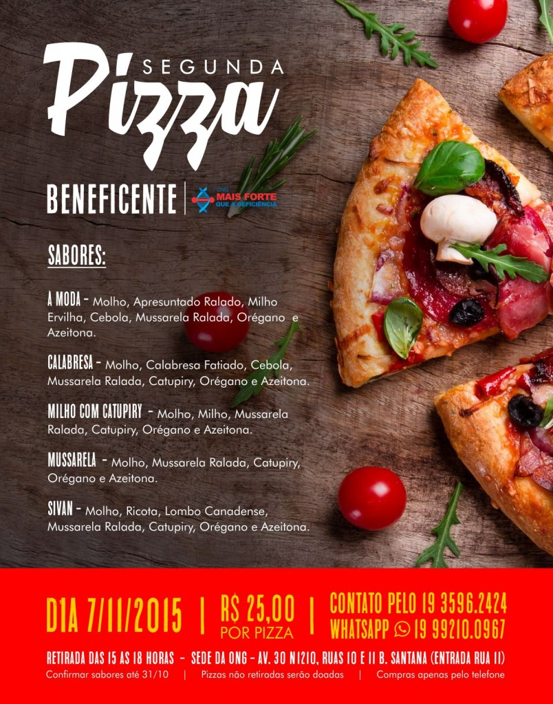 dmd - pizza campanha